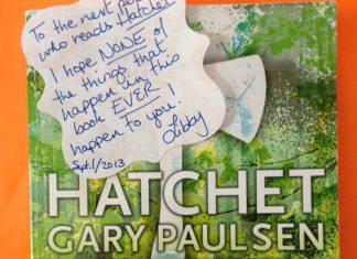 hatchet book by Gary Paulsen